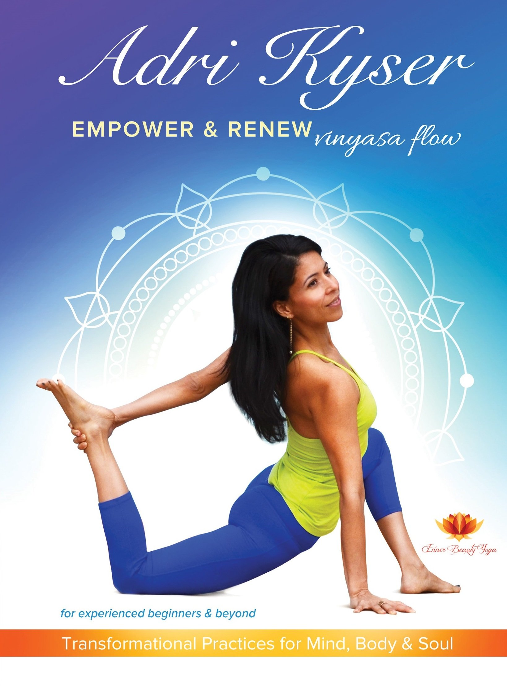Empower & Renew Vinyasa Flow DVD by Adri Kyser (Image #1)