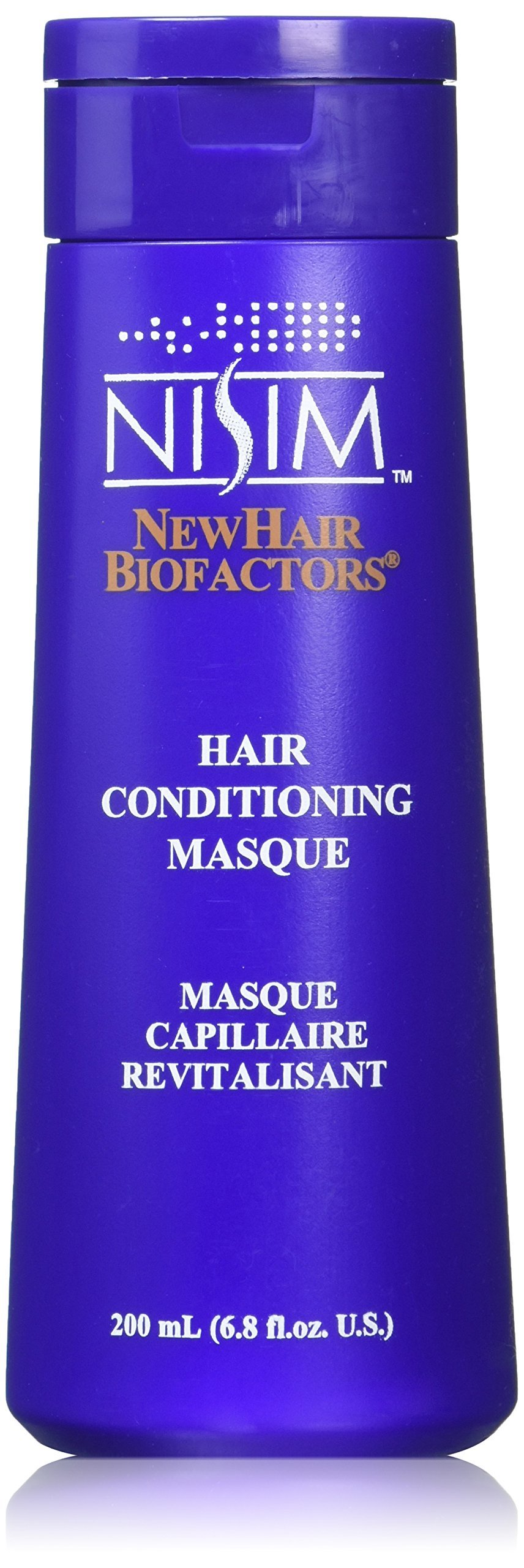 NISIM Hair Conditioning Masque - Moisturizing Hair Mask Designed for Very Dry, Damaged, and Over Treated Hair (6.8 Ounce / 200 Milliliter)