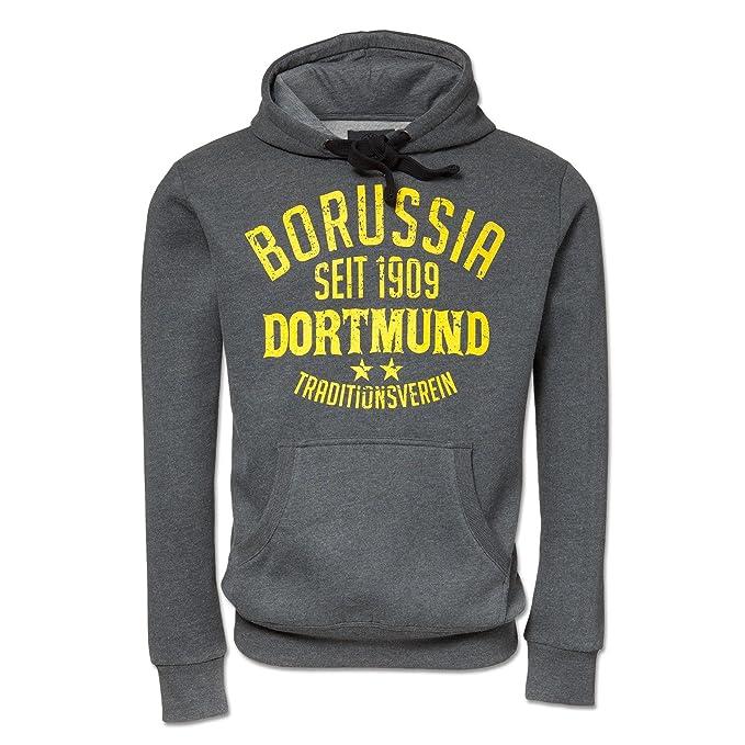 Borussia Dortmund de Sudadera Antracita