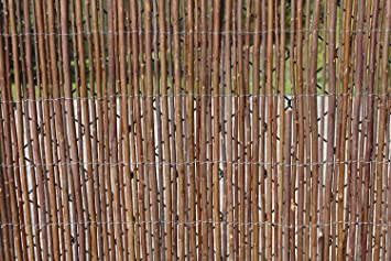 Willow Garden Screening Fencing Rolls 1.8M Tall And 3.8M Long