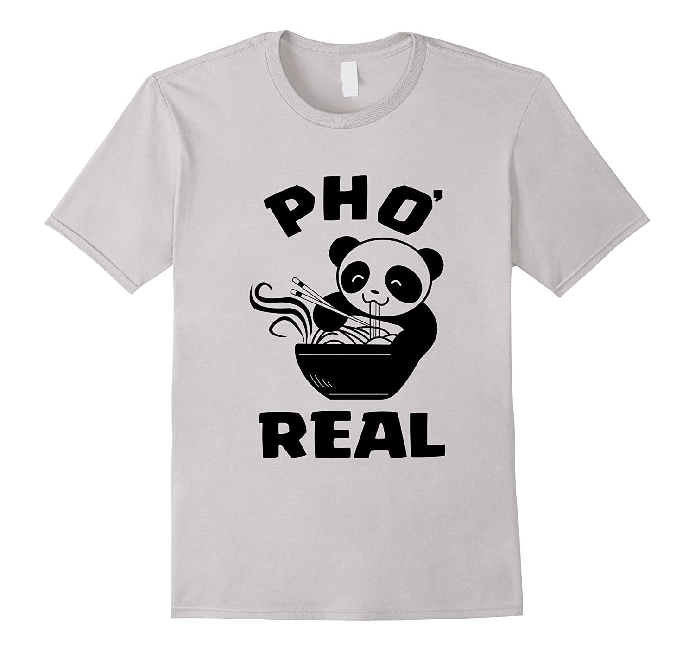 Funny Panda Pho Sho T-shirts-CL