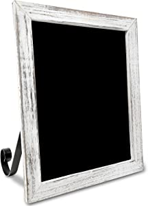 TenXVI Designs Freestanding Chalkboard Sign – Multiple Colors and Sizes – for Weddings, Tabletops, Countertops, Restaurants, Kitchens, Rustic Home Décor