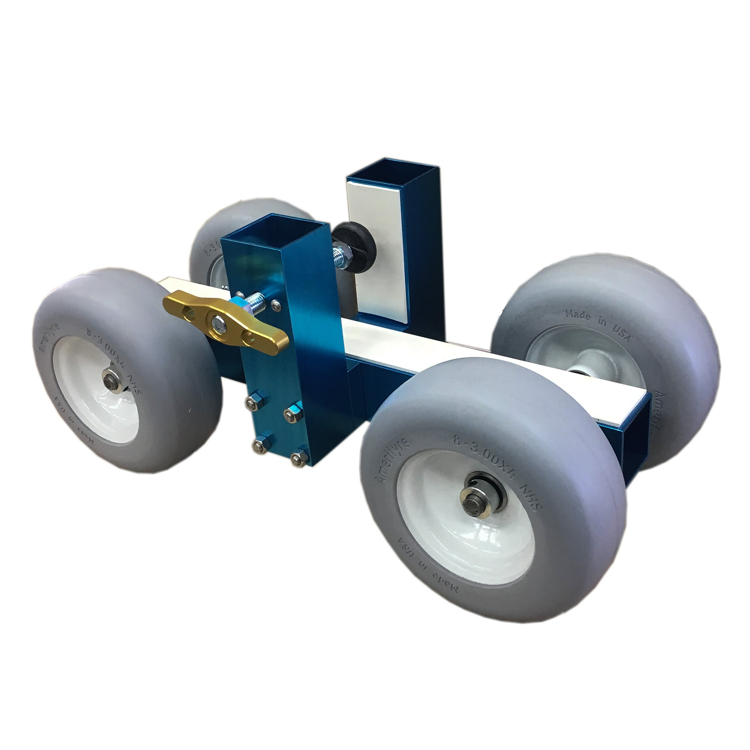 Pro-Dolly TX1 Granite Stone Slab Dolly Pro Cart by Blue Thunder