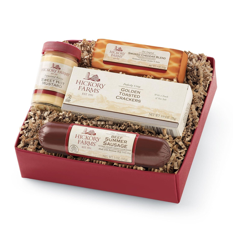 Amazon.com : Hickory Farms Beef Hickory Sampler Gift Box : Grocery ...