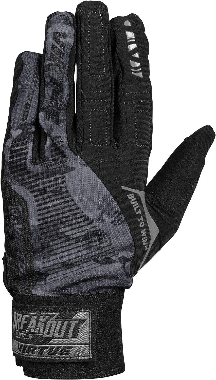Virtue Breakout Gloves - Multi-Sport Ripstop Full Finger Paintball Gloves : Sports & Outdoors