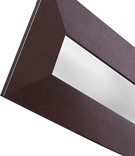 Mirrorize NM332 Long Accent Wide Silver Frame, 10.5 54.5 Inner Mirror 4 48-Inch , Set of 3, 1.5DX10.5HX54.5W