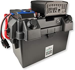 Cutting Edge Power 1500W MPPT Premium Solar Generator, Portable Battery Box w Inverter, USB, 12V