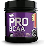 Optimum Nutrition Pro BCAA Drink Mix, Fruit Punch, 20 Servings 13.07 Ounce (Packaging May Vary)