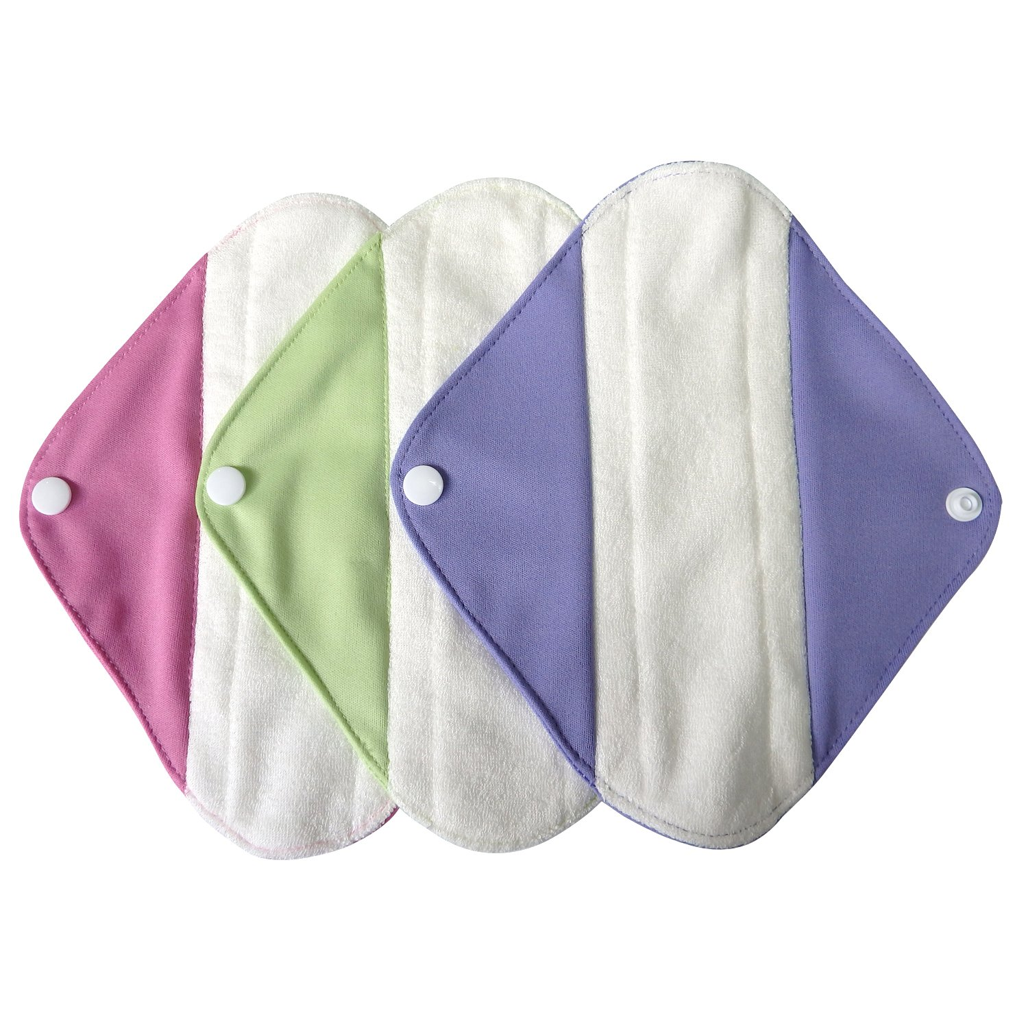 LBB Reusable Washable Menstrual Pads Small Size,3 pads pack