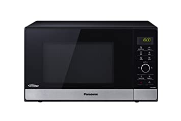 Panasonic NN-GD38HSSUG Horno microondas, 1000 W, 23 litros, Negro y Acero