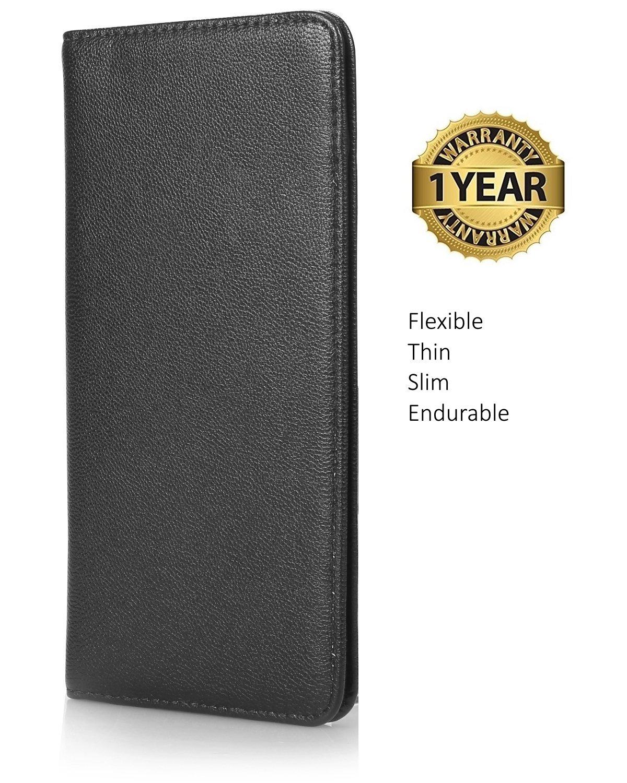 Extremely Thin Server Book Waitress Book Restaurant Waitstaff Organizer Check Presenter, Flexible Soft Slim 4.3'' X 8.5'' by Mymazn (Image #2)