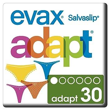 Evax Salvaslip Adapt Protegeslips - 30 unidades: Amazon.es: Amazon Pantry