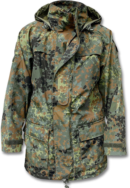 Teesar Military Smock Generation II Army Mens Jacket Hooded Coat Flecktarn Camo