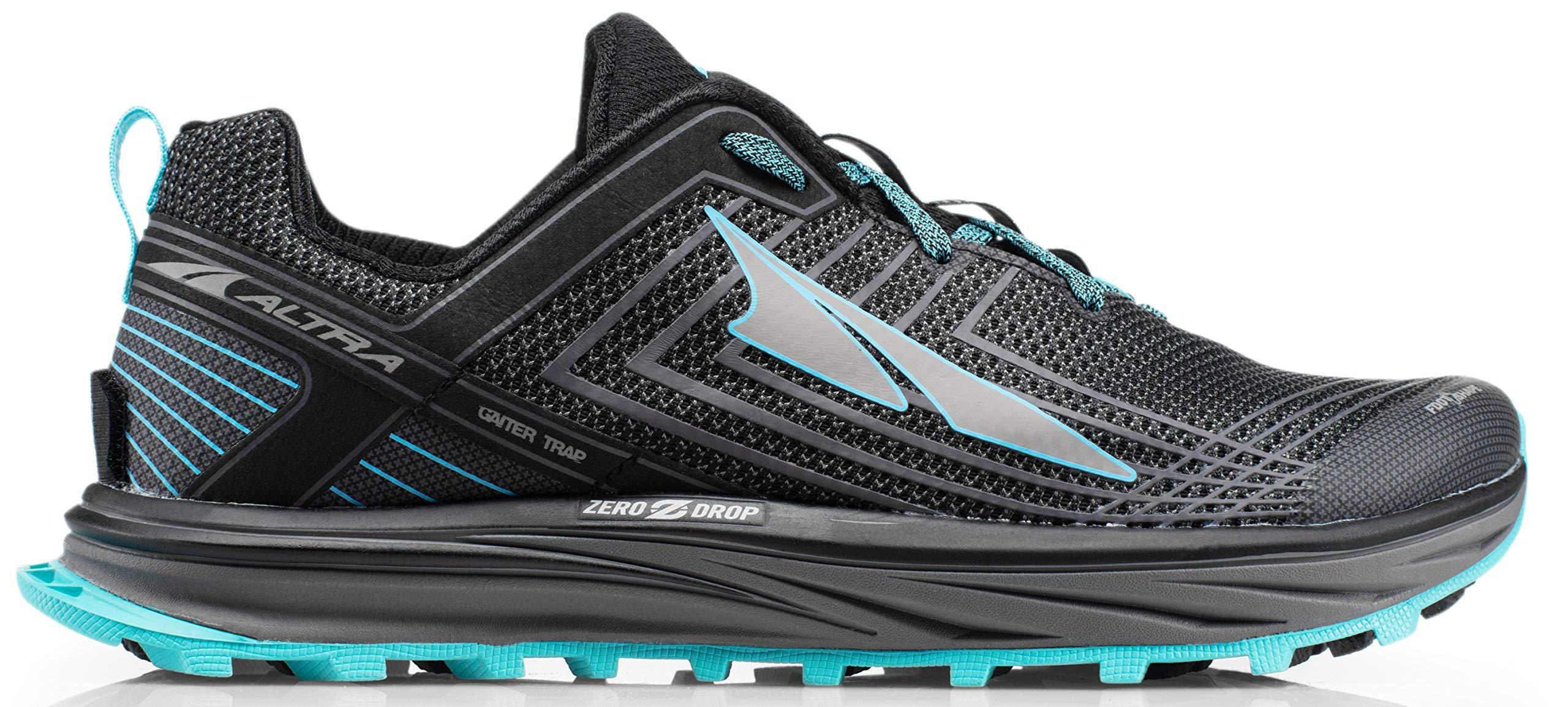 Altra AFM1957F Men's TIMP 1.5 Trail Running Shoe, Gray/Blue - 8 D(M) US