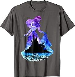 Disney Sleeping Beauty Castle Silhouette Graphic T-shirt