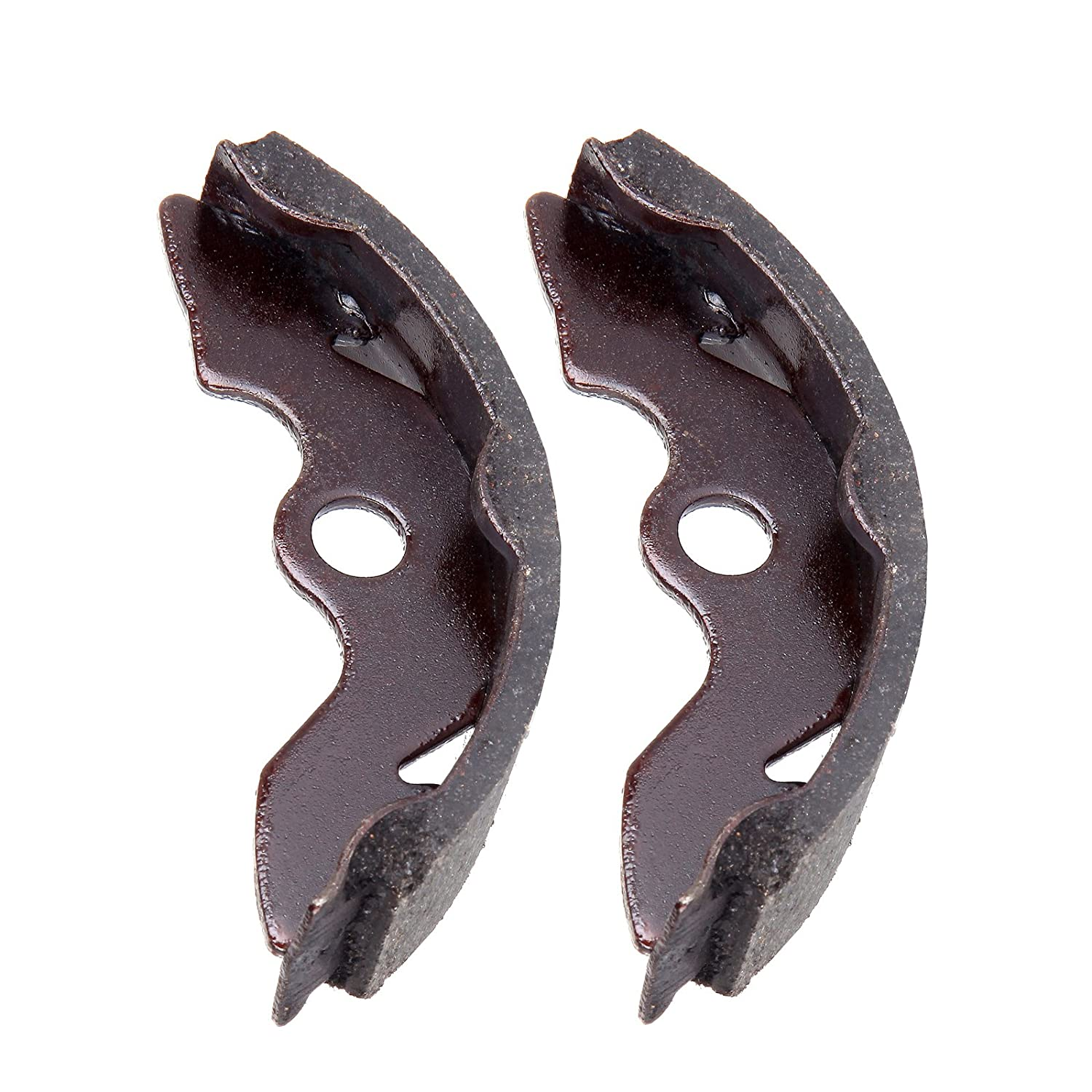 CCIYU Front Brake Shoes Fit For 1988 1989 1990 1991 1992 1993 1994 1995 1996 1997 1998 1999 2000 Honda FourTrax 1997 1998 1999 2000 2001 2002 2003 2004 2005 2006 2007 2008 2009 2011 Honda Recon