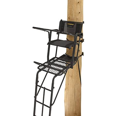Rivers Edge RE651 1-Man Ladder Stand LOCKDOWN 21 1-Man