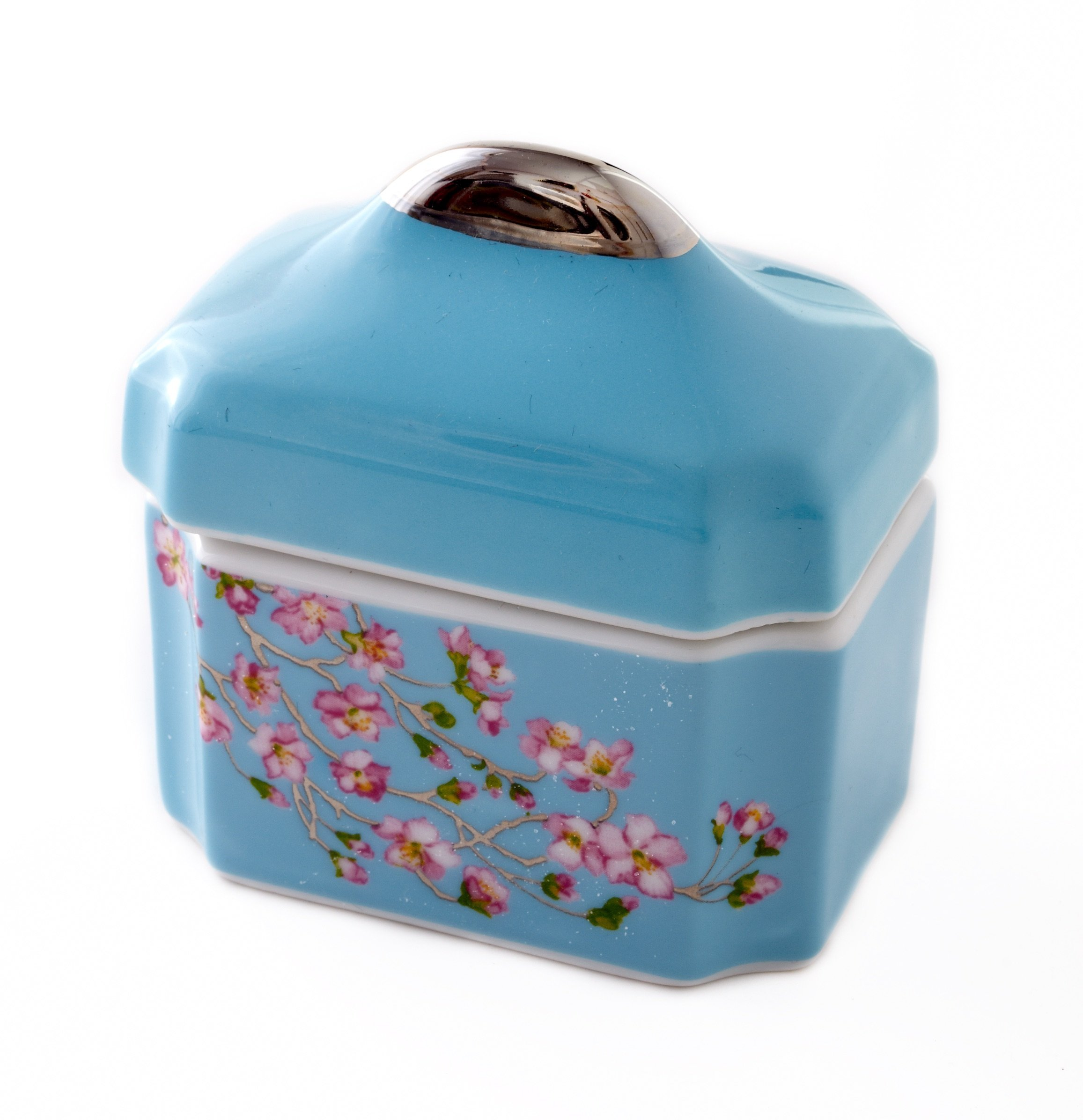 CRU by Darbie Angell Madison's April in NY Sugar Bowl, Sea Blue/Pink/Platinum/White