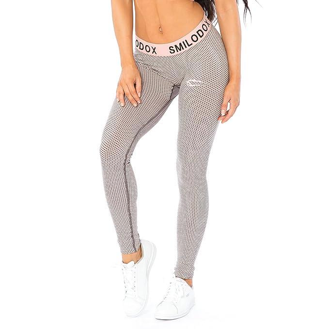 SMILODOX Sport Leggings Damen | Seamless Figurformende Leggings für Sport Fitness Gym Training & Freizeit | Sporthose Workout Trainingshose
