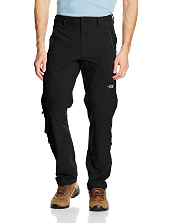 cff2494081 The North Face Exploration Convertible Pantalon de randonnée Homme:  Amazon.fr: Sports et Loisirs