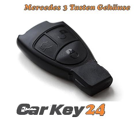 3 botones Carcasa para llave de repuesto - Mercedes Benz ...