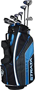 Callaway Men's Strata Ultimate Complete Golf Set (16-Piece, Left Hand, Steel)