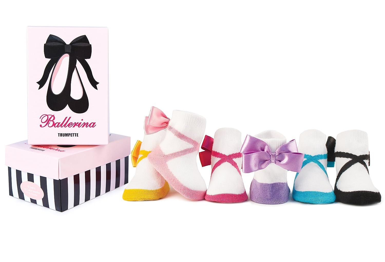 Amazon.com: Trumpette Baby Girls\' Sock Set-6 Pairs: Clothing