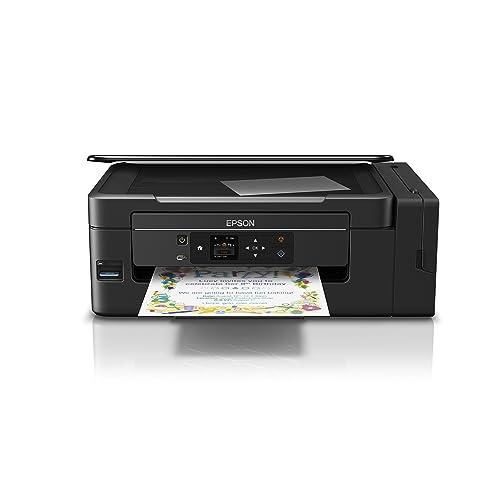 Epson ET 2650 EcoTank Impresora de inyección de tinta 3 en 1 Wifi pantalla LCD Negro