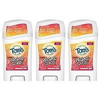 Tom's of Maine Aluminum- Free Wicked Cool Deodorant, Natural Deodorant, Toms Deodorant...