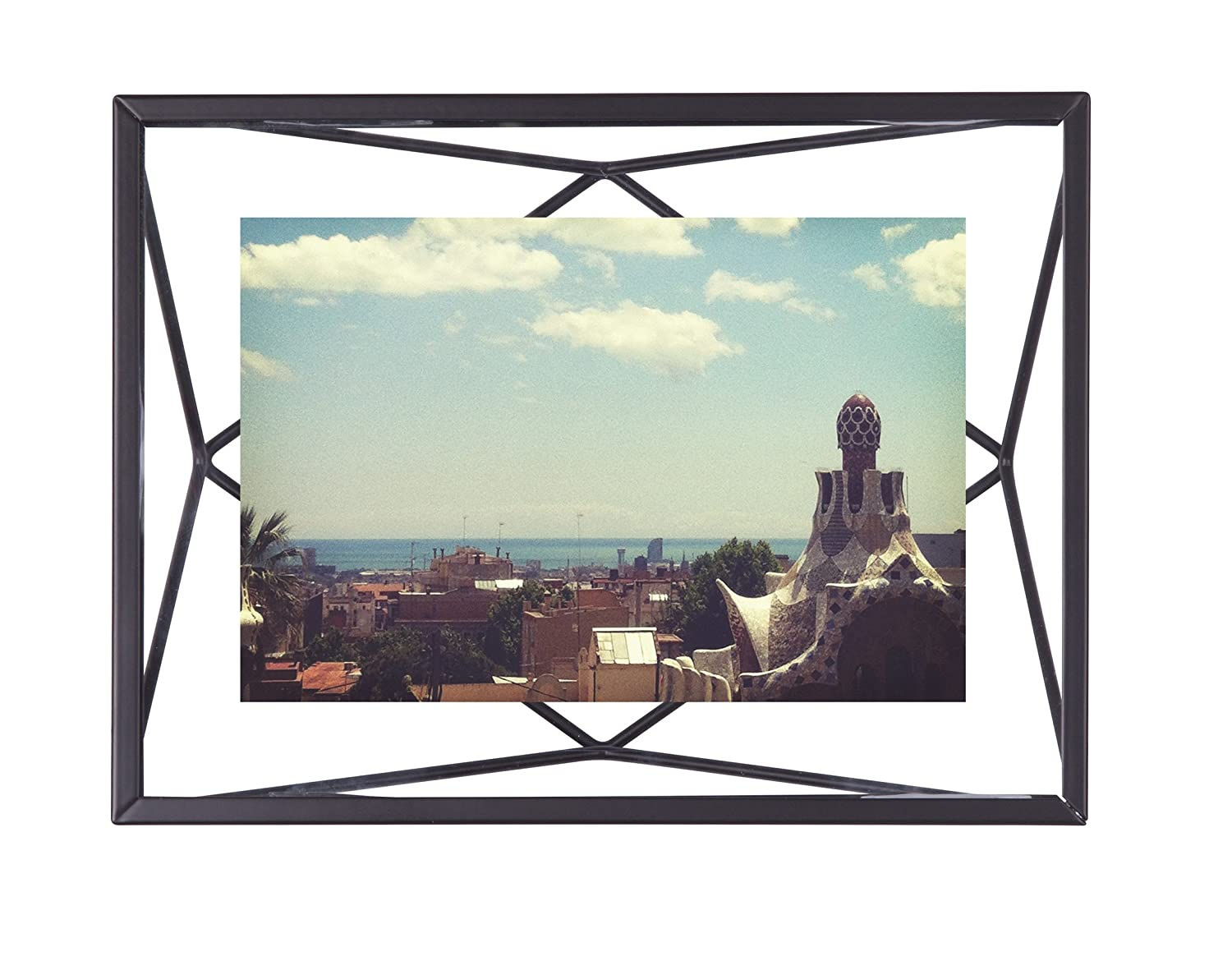 Amazon.com - Umbra Prisma Picture Frame, 4 by 6-Inch, Black -
