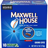72-Count Maxwell House Original Roast K Cup Coffee Pods