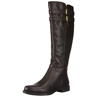 Franco Sarto Women's Christoff Equestrian Boot , Hickory, 9.5 M(Reg Calf): Shoes