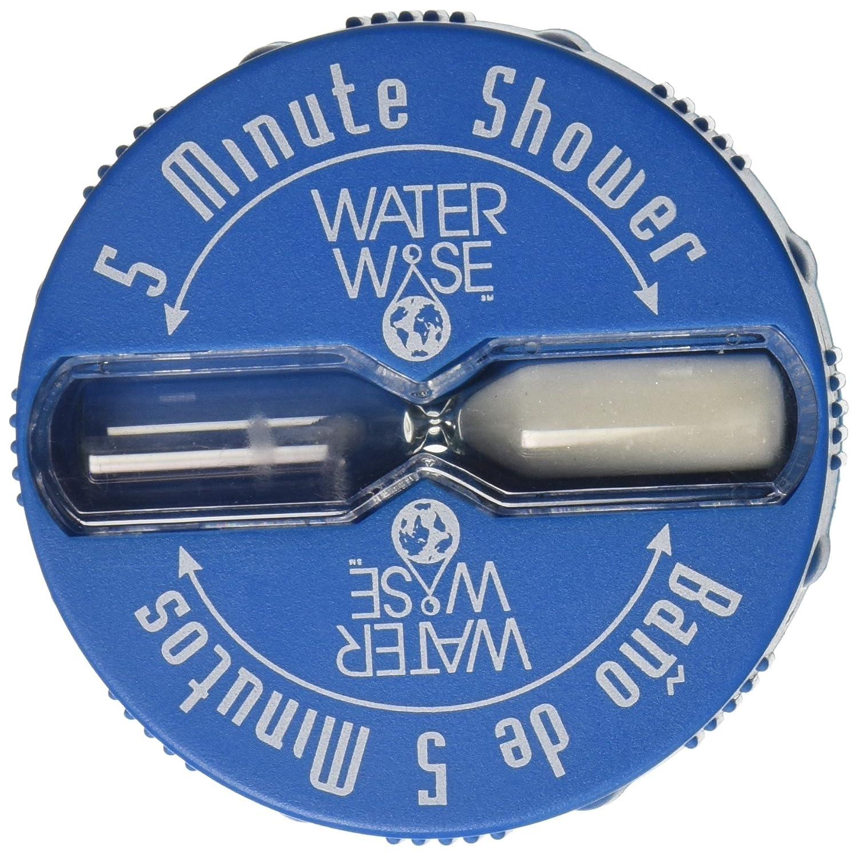 Shower Clock Timer, Five Minute Shorter Shower & Save | Baño de 5 Minutos New Resources ST-SP-060G