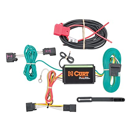 amazon com: curt 56214 vehicle-side custom 4-pin trailer wiring harness for  select chevrolet cruze: automotive