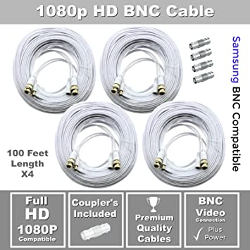100ft Premium Cable for Samsung SDH-C75100 /& SDH-C75080 1080P HD system