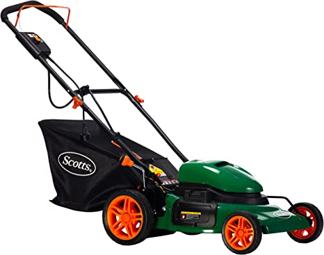 Scotts Outdoor Power Tools 50620S 20-Inch Steel Deck 12-Amp Corded Electric Lawn Mower