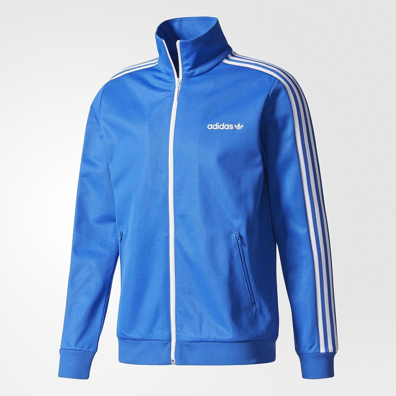 adidas men s bb tracktop sweatshirt blue azul x small adidas rh amazon co uk