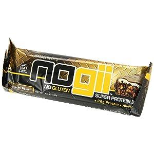 NoGii Super Protein Nutritional Bar, Rocky Road