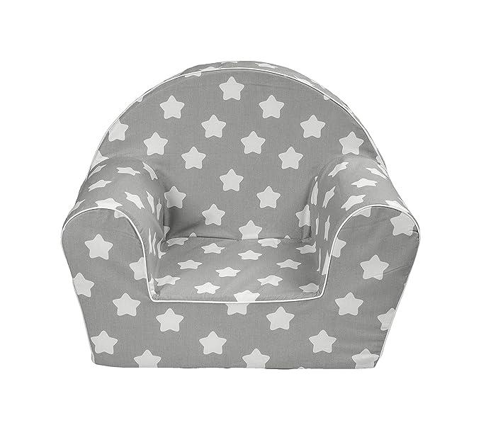 Muse House – Silla Infantil Sillón Sofá Asiento Taburete para niños niños pequeños