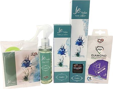 Profumi & Co–Je Parfum Set Diffusore Profumato per Ambiente
