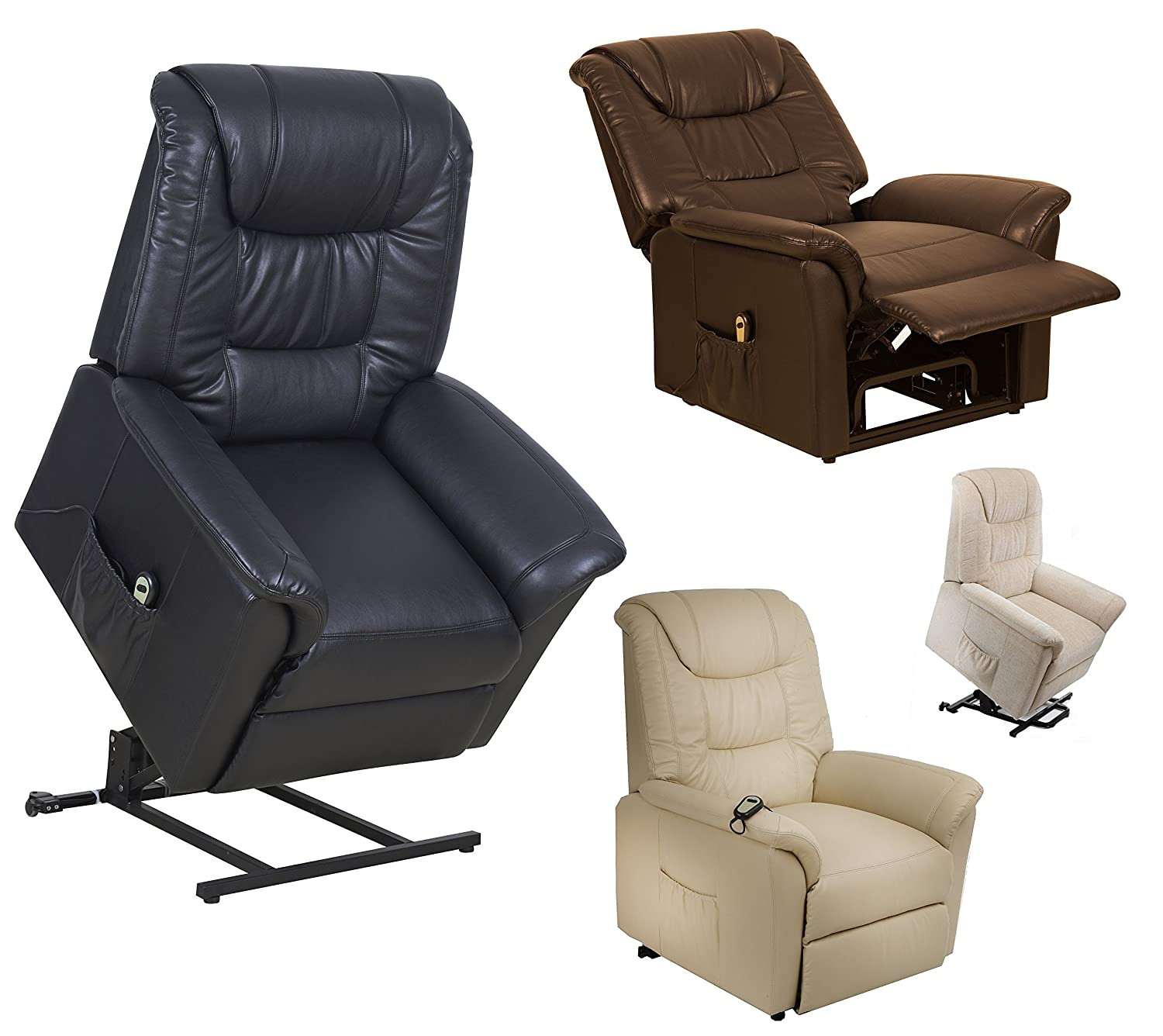 Riva Dual motor electric riser and recliner chair