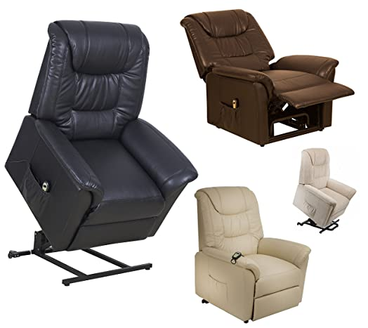 Riva Dual motor electric riser and recliner chair - choice of colours (Beige Fabric)  sc 1 st  Amazon UK & Riva Dual motor electric riser and recliner chair - choice of ... islam-shia.org