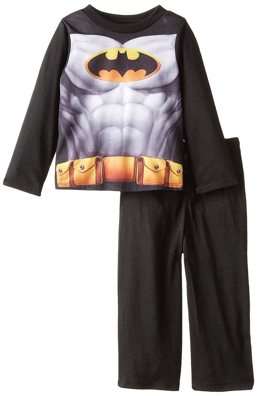 Batman Boys Long Sleeve Cape Set Black 2T Komar Boys 2-7 K157782BM