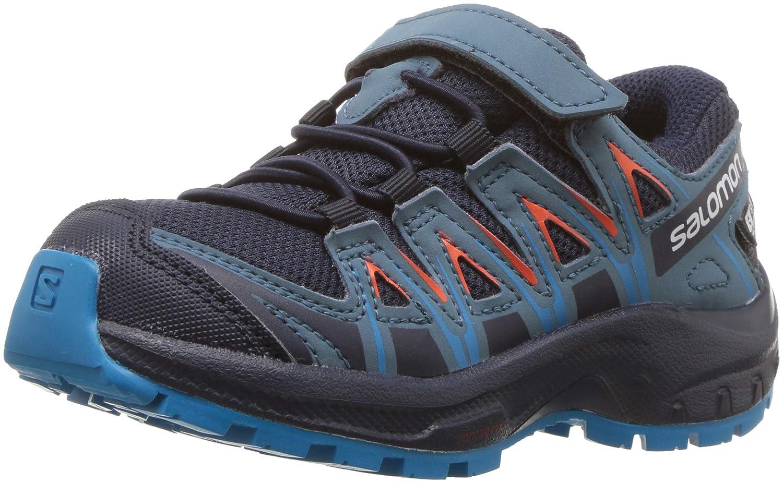 Salomon XA Pro 3D CSWP J, Calzado de Trail Running Impermeable para Niñ os Calzado de Trail Running Impermeable para Niños