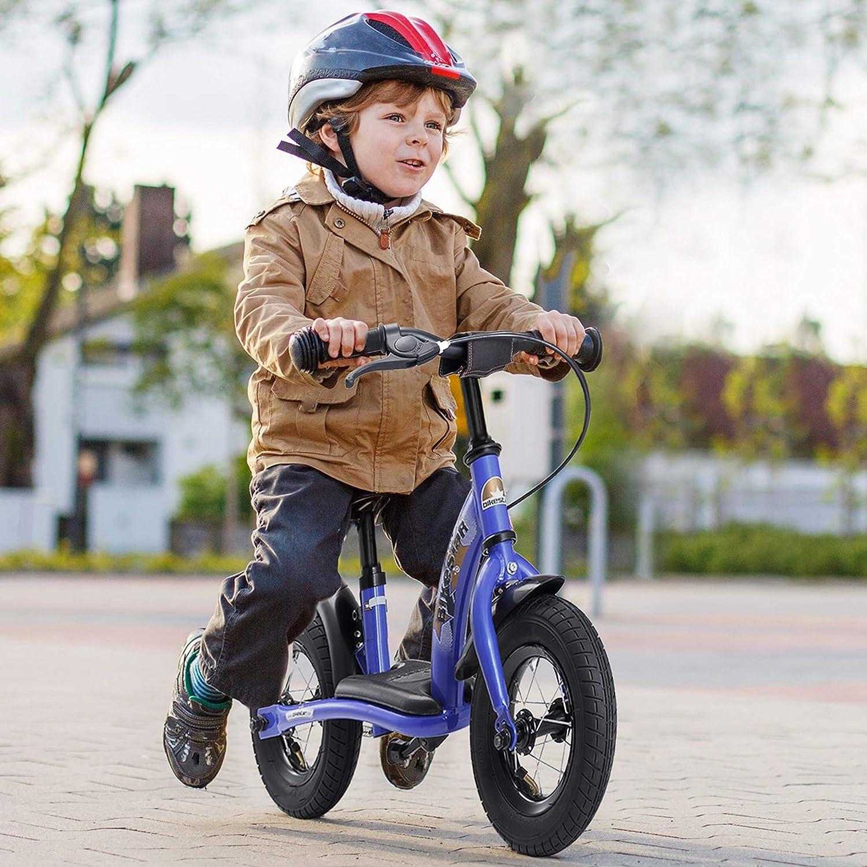Laufrad mit Bremse macht Spaß