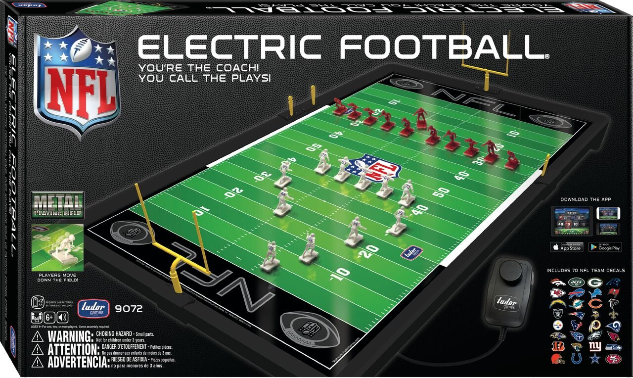 7c7651451b9 Amazon.com: NFL Electric Football Game: Toys & Games