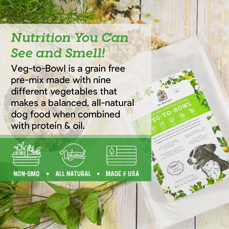 Amazon.com: Dr. Harveys Veg-to-Bowl Alimento para perro ...