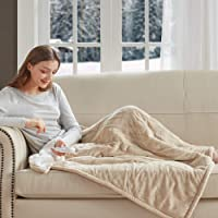 Degrees of Comfort Heated Throw - Reversible | Spot Sensing Heating Blanket Technology Evenly Distributes Warmth | 6ft…