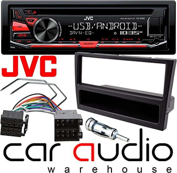 VAUXHALL TIGRA STEREO SILVER FACIA FASCIA KIT SURROUND ISO AERIAL 2004 ONWARDS