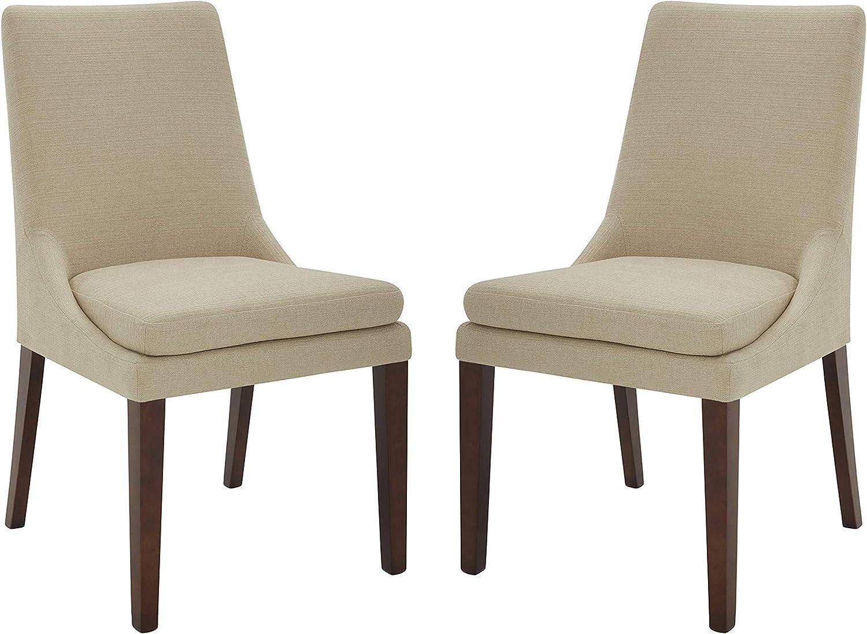 Amazon Brand – Stone & Beam Alaina Upholstered Dining Room Kitchen Chairs, 20